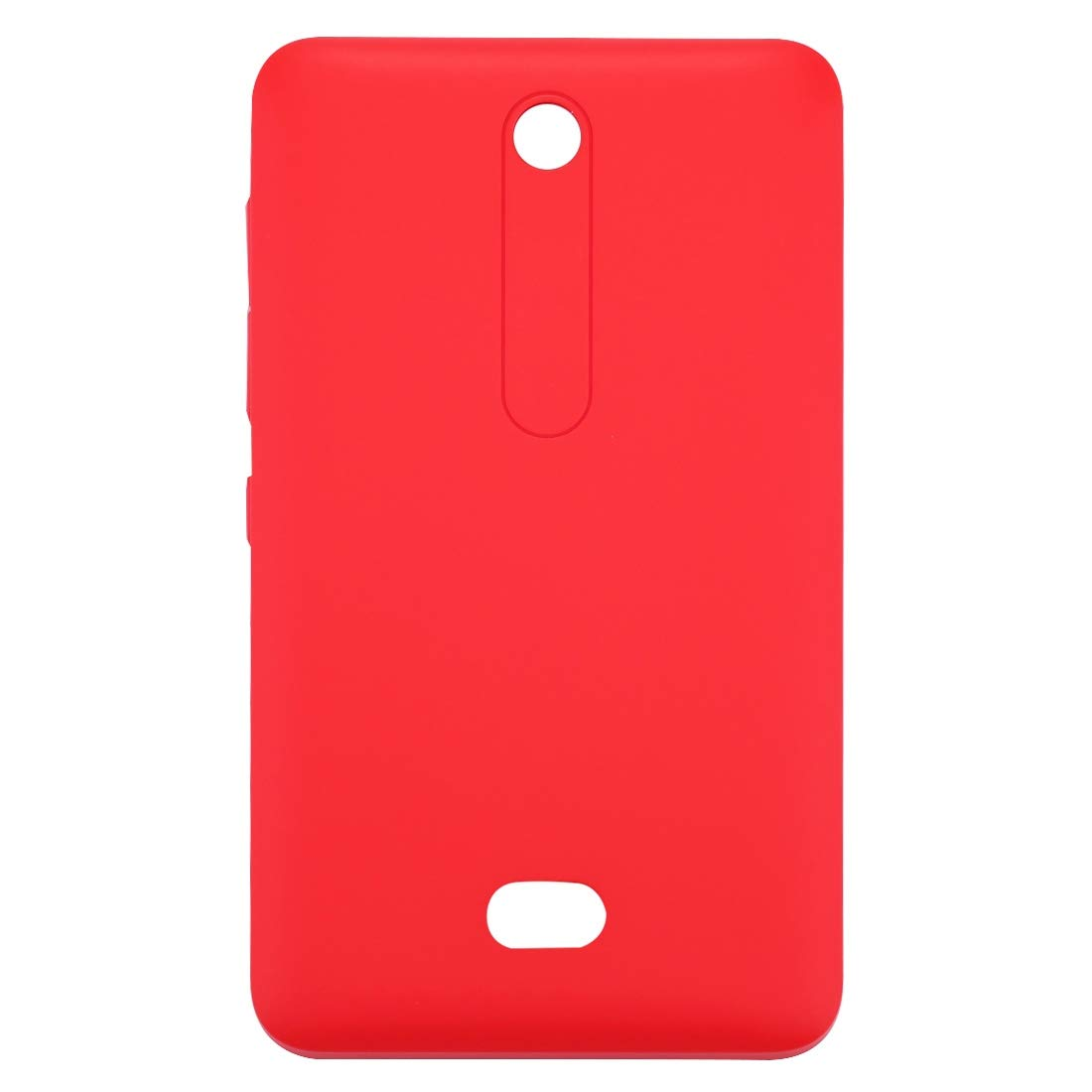 JUNXI Phone Battery Back Cover for Nokia Asha 501 (Black) Soft and Simple (Color : Red) by JUNXI
