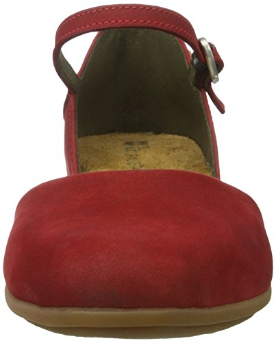 El NATU ralista viandante n334, mujer Zapatillas Rojo (Tibet)