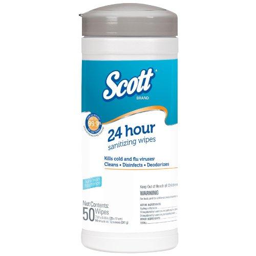 SCOTT 41524 Sanitizer Wipes Width