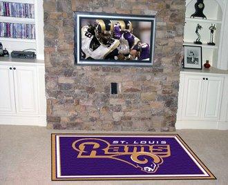 NFL - St Louis Rams 5 x 8 Rug