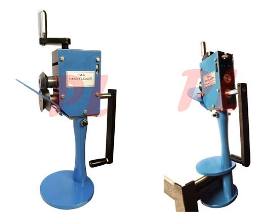 Hand Flanger Sheet Metal Fabrication Bender Rotary Machine 360 Degrees Rotation
