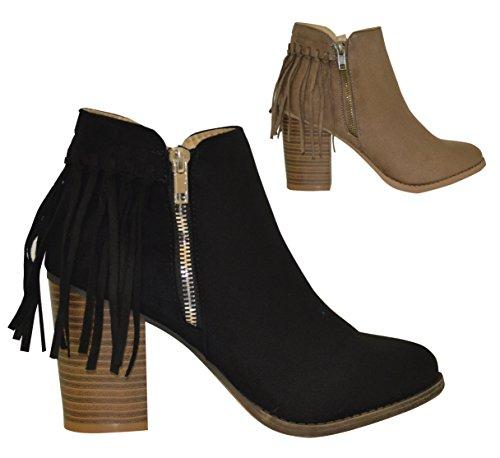 Ciara - Botas de Material Sintético para mujer Negro - negro