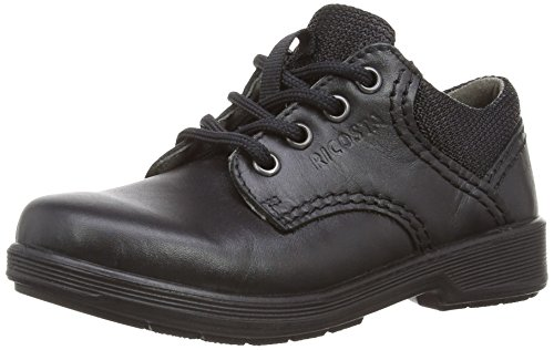 Noir Harry Ricosta Schuhe M 1 UK Schwarz Jungen Black w4IB4dx