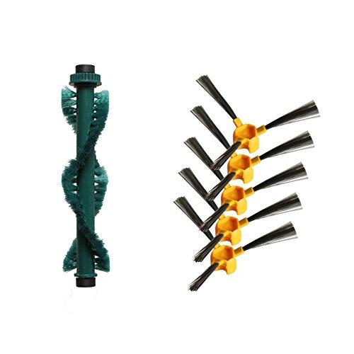 Louu Cepillo Lateral 5 + Cepillo para Mezclar * 1 para aspiradora ...