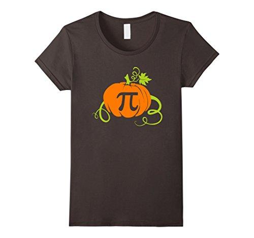 Womens Pumpkin Pi Shirt Funny Math Teachers Halloween Gift Idea XL Asphalt