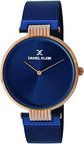 Daniel Klein Analog Blue Dial Men's Watch-DK11406-3