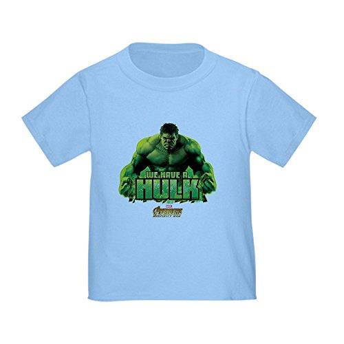 CafePress Avengers Infinity War Hulk Toddler T Shirt Cute Toddler T-Shirt, 100% Cotton Baby Blue ()