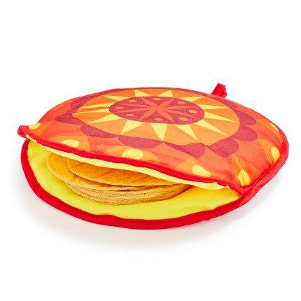 Tortilla Warmer (IMUSA USA MEXI-10007 Sunburst Cloth Tortilla Warmer 12-Inch, Yellow/Red/Orange)