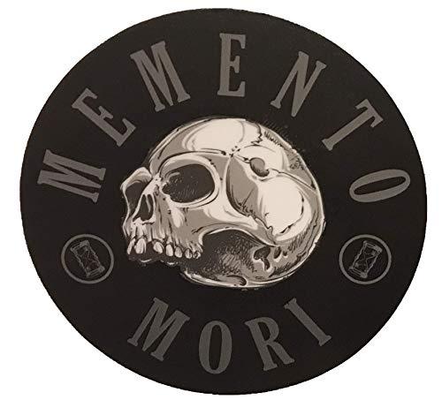 Bumper Sticker Vinyl Decal Remember Death F-Bomb Morale Gear Memento Mori