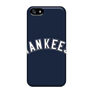 Durable Defender Cases Case For Iphone 5/5S Cover Covers(baseball New York Yankees 1)