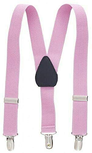 Pink Kids Toddlers Suspenders Fashion Boys Girls US Ship Free Size Tkmiss from Unknown