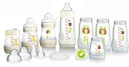 MAM Anti-Colic Self-Sterilising Bottle Starter Set