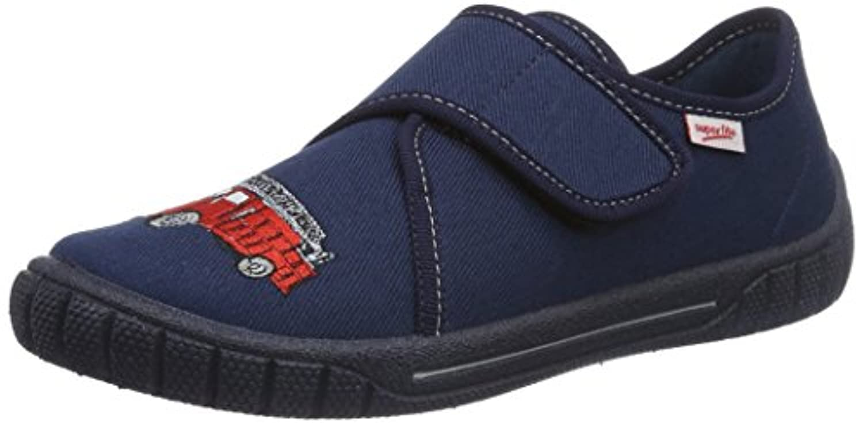 Superfit Boys' Bill Slippers Grey Size: 23
