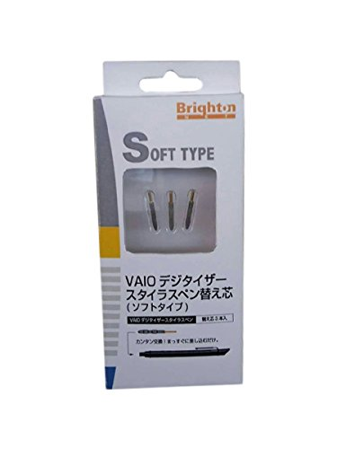 Replacement Tips Refill for VAIO Digitizer Stylus Pen Stylus (3-packs) Soft Type - Brighton Store Select