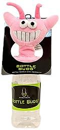 Hyper Pet Bottle Bud Dog Toy, Pink Alien