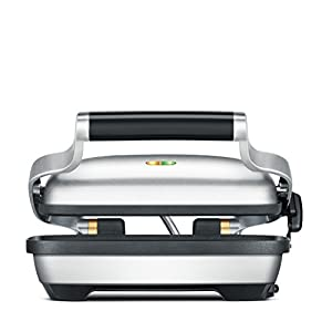 Breville BSG600BSS Panini Press, Silver