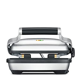 Image of Breville BSG600BSS Panini Press, Silver Home and Kitchen