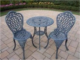 Oakland Living - Mississippi 3pc Bistro Set 2005-VGY