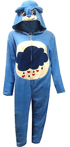 Care Bears Men's Grumpy Bear Union Suit, Blue, L]()