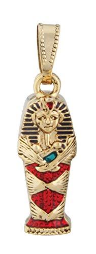 Egyptian King Tut Coffin Pendant Jewelry Accessory Egypt Necklace (Egyptian King Tut Necklace)