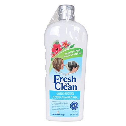 Lambert Kay Fresh'n Clean Oatmeal n Baking Soda Pet Conditioner, 18-Ounce (Lambert Kay Oatmeal)
