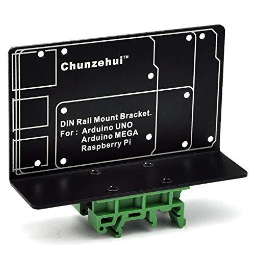 DIN Rail Mount Bracket for Raspberry Pi 2 3 B B+ Zero Arduino UNO MEGA by Chunzehui