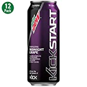 The perfect mix of Dew and fruit juice, plus electrolytes (for taste) and just the right amount of kick to get things going.