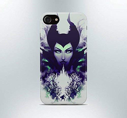 Inspired by Maleficent iPhone case 7 plus X XR XS Max 8 6 6s 5 5s se Samsung galaxy case s8 s7 edge s6 s5 s4 note 9 phone cover poster art disney princess aurora