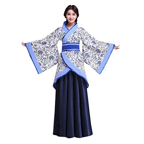Ez-sofei Women's Ancient Chinese Traditional Costumes Hanfu S