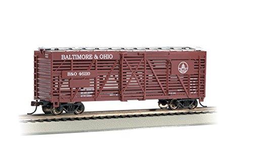 Bachmann Ho 40' Stock Car (Bachmann Industries Stock B&O Freight Car, 40')