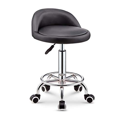- Bar stools,Counter Bar Chair Explosion-proof Lifting Stool, With 360° Rotation And Lifting Function, High Stools Rotating Beauty Stool 2 Styles High Stools ( Color : Black , Size : Foot nail )