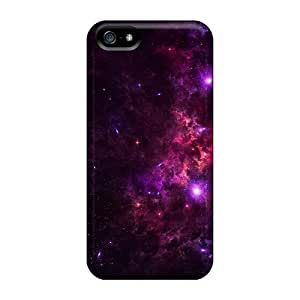 Hill-hill Scratch-free Phone Case For Iphone 5/5s- Retail Packaging - Pink Nebula