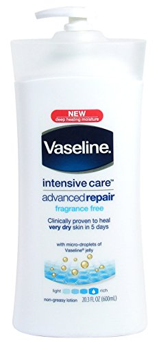 Vaseline Intensive Care Advanced Repairing Fragrance Free Lotion 600ml