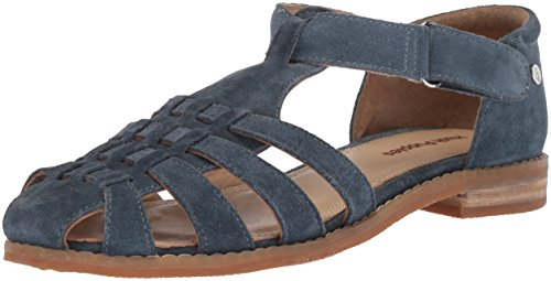 Hush Puppies Chardon Fisherman Women 11 Vintage Indigo Suede