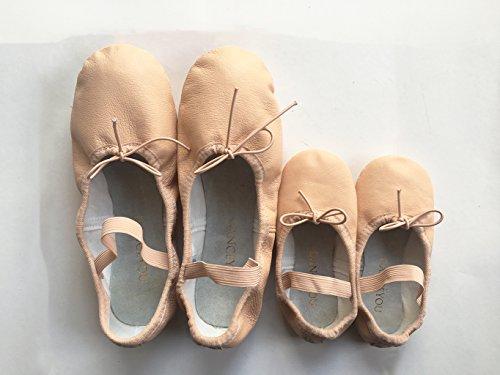 gimn 1102 Ballett Ballet Cuero DANCE de Zapatos Zapatos de Gimnasia Zapatillas de Zapatos YOU DANCEYOU A6w6Sq4