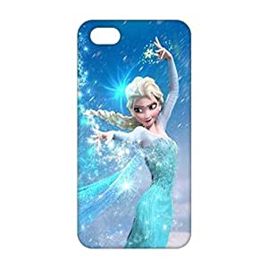 Evil-Store Frozen lovely girl 3D Phone Case for iPhone 5s