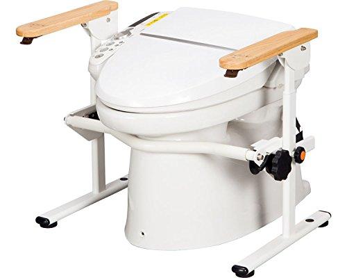 ランキング第1位 洋式トイレ用ベストサポート手すり B01MQKESUL ひじ掛けはねあげ 627-010 (シコク) (トイレ用てすり) B01MQKESUL, 文房具屋さん本舗:af7ea9f2 --- arianechie.dominiotemporario.com