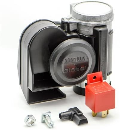 Stebel 11690019 Nautilus Compact Mini Air Horn Black By Stebel Auto
