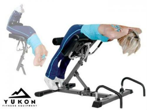 Total Back System Hyperextension Bench by Yukon (Image #1)