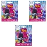 Set of 3: DreamWorks Trolls Surprise Mini Figure Series 3 - Inspired by the DreamWorks Trolls Animated Movie.