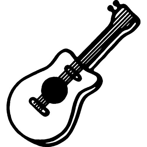 Azeeda A7 Guitarra Acustica Sello de Goma (Desmontado ...