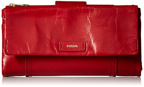 Ellis Wallet - Crimson Wallet, One Size