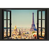 View From A Paris Window Poster Print, 92x61 cm