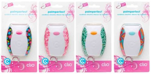 Clio Palm Perfect Cordless Shaver for Women (Color May Vary) by Clio Designs