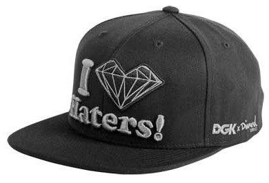 2051e44b5de35 Image Unavailable. Image not available for. Colour  DGK Diamond Haters  Snapback ...
