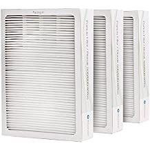 Blueair Classic Replacement Filter, 500/600 Series Genuine Particle Filter, Pollen, Dust, Removal 501, 503, 510, 550E, 555EB, 601, 603, 650E, 505, 605