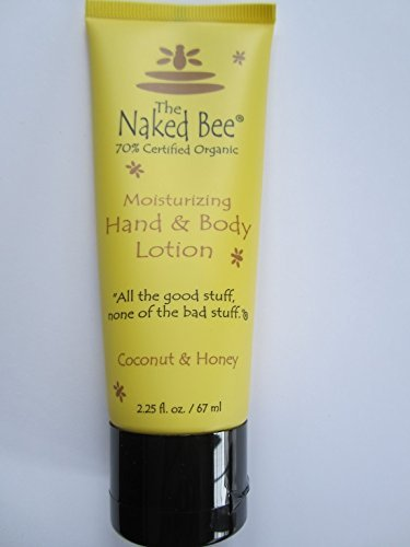 - The Naked Bee Coconut Honey Hand And Body Lotion, 2.25 Ounce