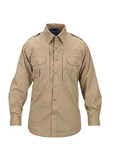 propper-mens-long-sleeve-tactical-shirt-large-khaki