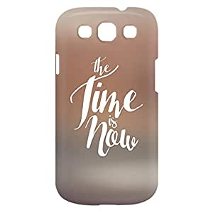Loud Universe Samsung Galaxy S3 The Time Is Now Print 3D Wrap Around Case - Multi Color