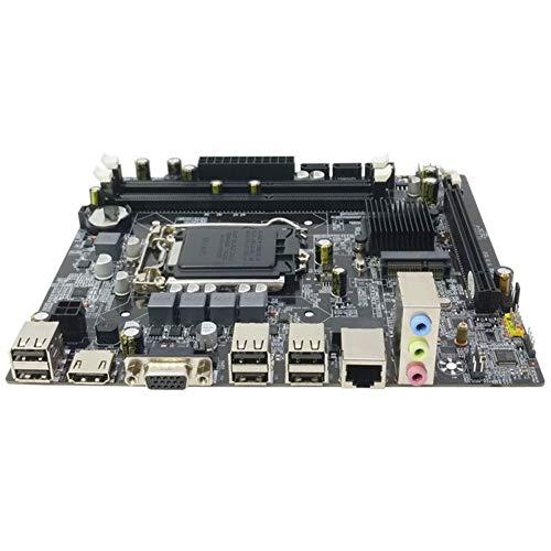 Finerplan Motherboard H55 LGA 1156 2DDR3 RAM 16G Board Computer 2 Channel Mainboard (Best Lga 1156 Motherboard)